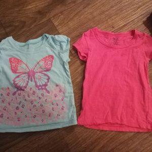 Girls shirt set